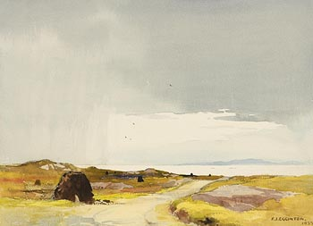 Frank Egginton, The Road to the Sea, Connemara (1933) at Morgan O'Driscoll Art Auctions