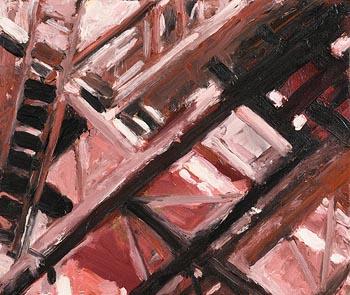 Stephen Lawlor, Liebherr No.5 (2007) at Morgan O'Driscoll Art Auctions