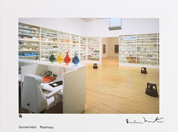 Damien Hirst, Pharmacy (1992) at Morgan O'Driscoll Art Auctions