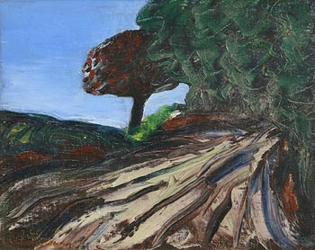 Sean McSweeney HRHA (1935-2018), Trees on the Hill at Morgan O'Driscoll Art Auctions
