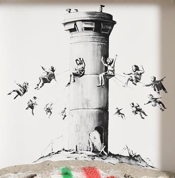 Banksy, Banksy Walled Off Hotel box set print at Morgan O'Driscoll Art Auctions