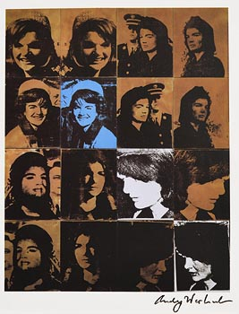 Andy Warhol, Jackie (1982) at Morgan O'Driscoll Art Auctions