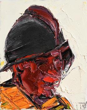 John Brian Vallely, Helmeted Head II at Morgan O'Driscoll Art Auctions