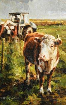 Mark O'Neill, The White Face Bullock (2006) at Morgan O'Driscoll Art Auctions