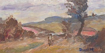 Ronald Ossory Dunlop, Figure in the Countryside at Morgan O'Driscoll Art Auctions