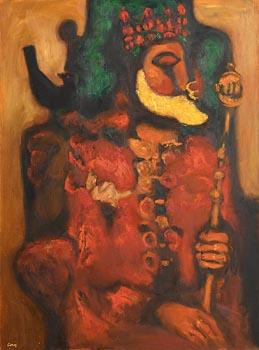 Desmond Carrick, Old Monarch at Morgan O'Driscoll Art Auctions