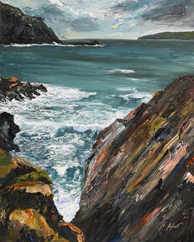Dorothee Roberts, Blow Blow Thou Winter Wind, Clogher, Kerry at Morgan O'Driscoll Art Auctions