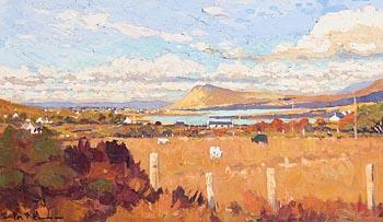 Alex McKenna, Cattle Above the Sound, Achill at Morgan O'Driscoll Art Auctions