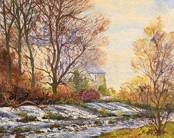 Fergus O'Ryan, The Mill, Athgarvan at Morgan O'Driscoll Art Auctions