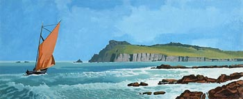 John Francis Skelton, Sybil Head, Kerry at Morgan O'Driscoll Art Auctions