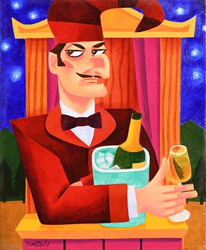 Graham Knuttel, Cheers, Mr Punch at Morgan O'Driscoll Art Auctions