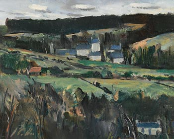 Peter Collis, Glencree at Morgan O'Driscoll Art Auctions