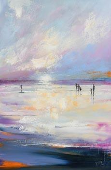 Paula McKinney, Shimmering Sunrise at Morgan O'Driscoll Art Auctions