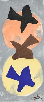 Georges Braque, Sun and Moon II at Morgan O'Driscoll Art Auctions
