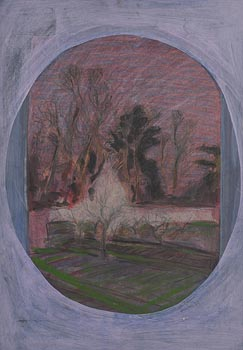 Brian Bourke, Bavarian Trees in Landscape (1969) at Morgan O'Driscoll Art Auctions