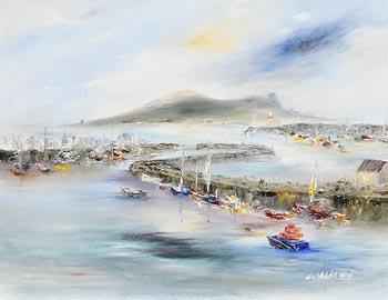 Carol Ann Waldron, Howth Harbour at Morgan O'Driscoll Art Auctions