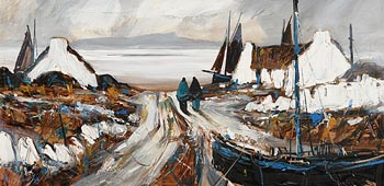 J.P. Rooney, Along the Silver Shore at Morgan O'Driscoll Art Auctions