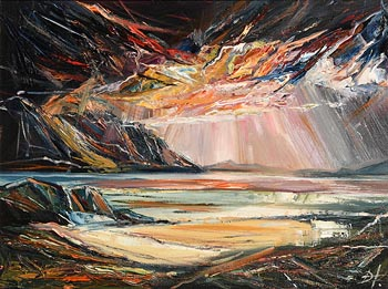 Douglas Hutton, Sunset Renvyle at Morgan O'Driscoll Art Auctions