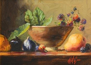 Mat Grogan, Still Life - Wild Fruits at Morgan O'Driscoll Art Auctions