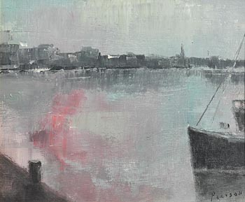 Peter Pearson, Dun Laoghaire at Morgan O'Driscoll Art Auctions