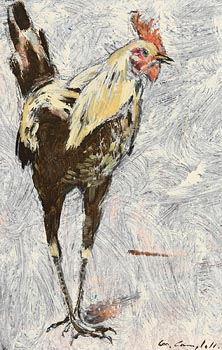 Con Campbell, Early Morning Cockerel at Morgan O'Driscoll Art Auctions