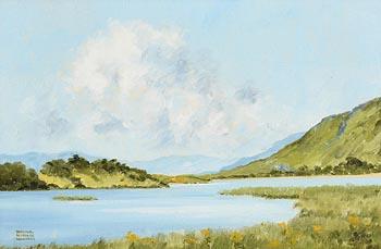 Terence Atridge Williams, Kylemore Lake, Connemara at Morgan O'Driscoll Art Auctions