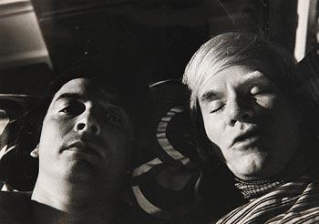 David Bailey, Pillow Talk between David Bailey and Andy Warhol (1973) at Morgan O'Driscoll Art Auctions