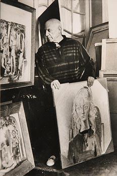 David Douglas Duncan, Pablo Picasso (1958) at Morgan O'Driscoll Art Auctions