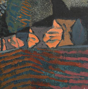 Colin Middleton, Tullybrannigan (1962) at Morgan O'Driscoll Art Auctions
