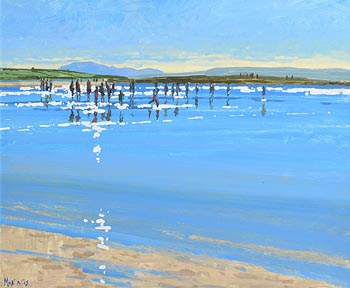 John Morris, Looking West, Ballybunion at Morgan O'Driscoll Art Auctions