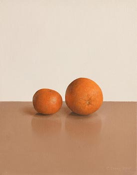 Comhghall Casey, Two Oranges (2007) at Morgan O'Driscoll Art Auctions