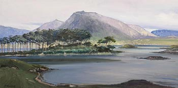 Cecil Maguire, Derryclare, Connemara at Morgan O'Driscoll Art Auctions
