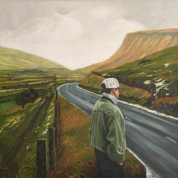 Martin Gale, Ben Bulben, Sligo (1998) at Morgan O'Driscoll Art Auctions
