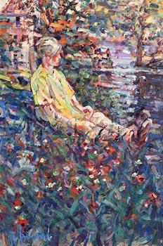 Arthur K. Maderson, September Evening, Isle of Innisfree at Morgan O'Driscoll Art Auctions
