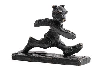 Patrick O'Reilly, Walking Bear at Morgan O'Driscoll Art Auctions
