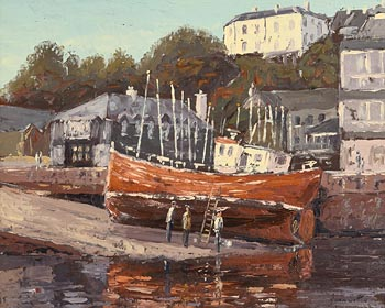 Ivan Sutton, Kinsale Slipwave at Morgan O'Driscoll Art Auctions
