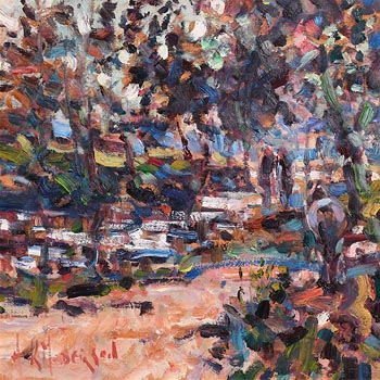 Arthur K. Maderson, Autumnal Evening at Morgan O'Driscoll Art Auctions