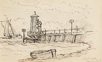 Alexander Williams, North Wall, Halpin's Pool at Morgan O'Driscoll Art Auctions