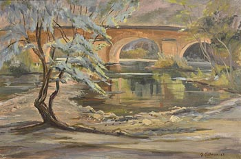 Geraldine  M. O'Brien, Sunset (1967) at Morgan O'Driscoll Art Auctions