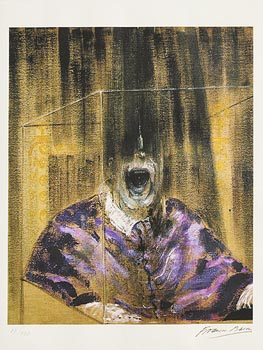 Francis Bacon, Pope Series at Morgan O'Driscoll Art Auctions
