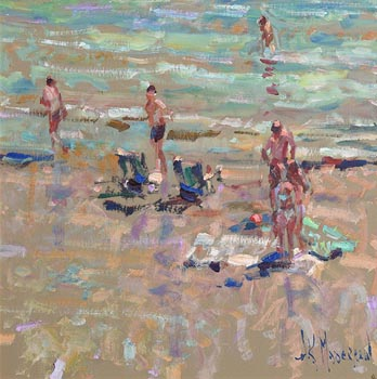 Arthur K. Maderson, Beach Study, Italy at Morgan O'Driscoll Art Auctions
