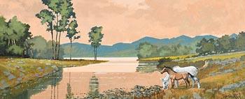 John Francis Skelton, Killarney Lakes at Morgan O'Driscoll Art Auctions
