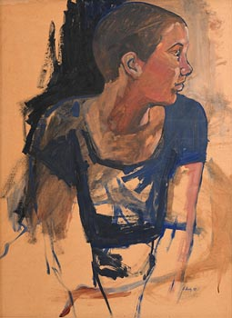 Eileen Healy, The Seated Model (1997) at Morgan O'Driscoll Art Auctions