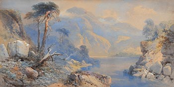 Thomas Charles Leeson Rowbotham, In the Highlands (1868) at Morgan O'Driscoll Art Auctions
