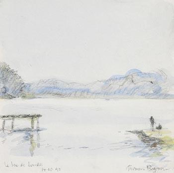 Thomas Ryan, Le Lae de Lourdes (1999) at Morgan O'Driscoll Art Auctions