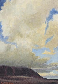 William Carron, Clouds Over Slievemore at Morgan O'Driscoll Art Auctions