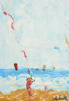 Marie Carroll, Kite Flying at Morgan O'Driscoll Art Auctions