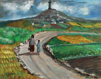 Jimmy Bingham, The Road Home at Morgan O'Driscoll Art Auctions