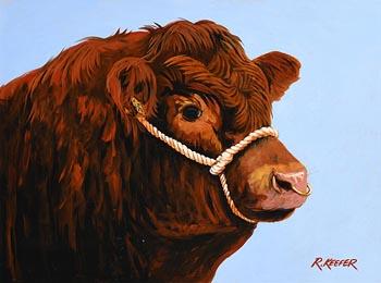 Ronald Keefer, Prize Bull at Morgan O'Driscoll Art Auctions