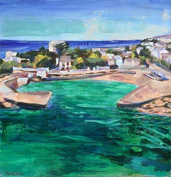 Tom Byrne, Seapoint, Co Dublin at Morgan O'Driscoll Art Auctions